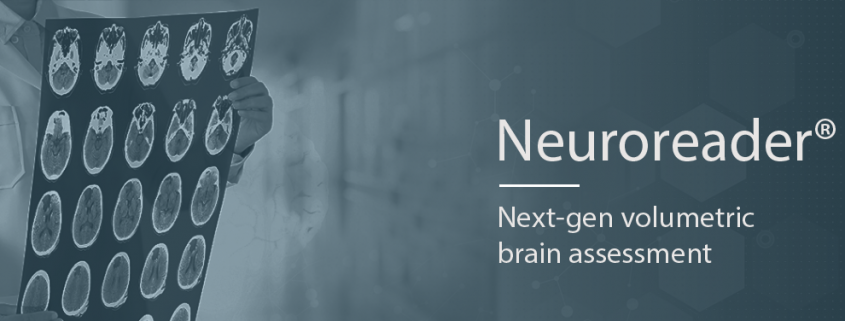 Neuroreader® - assessment tool for brain volumetrics